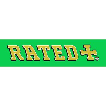 Rated Rilza Green Box Logo by BlueWallDesigns