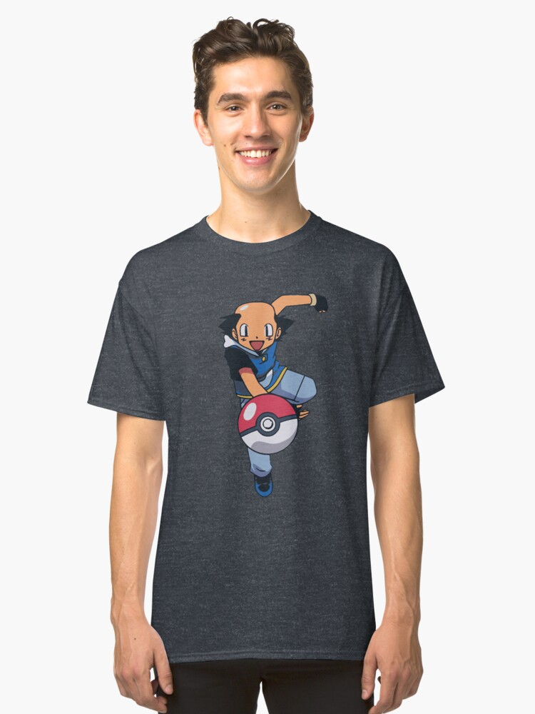 Ash Without a Hat Classic T-Shirt Front