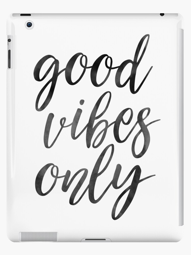 GOOD VIBES ONLY, Inneneinrichtungen, Wohnzimmer Dekor, Positives Zitat,  Motivierende Zitat, Inspirierende