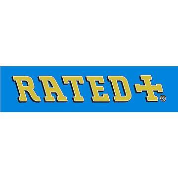 Rated Rilza Blue Box Logo by BlueWallDesigns