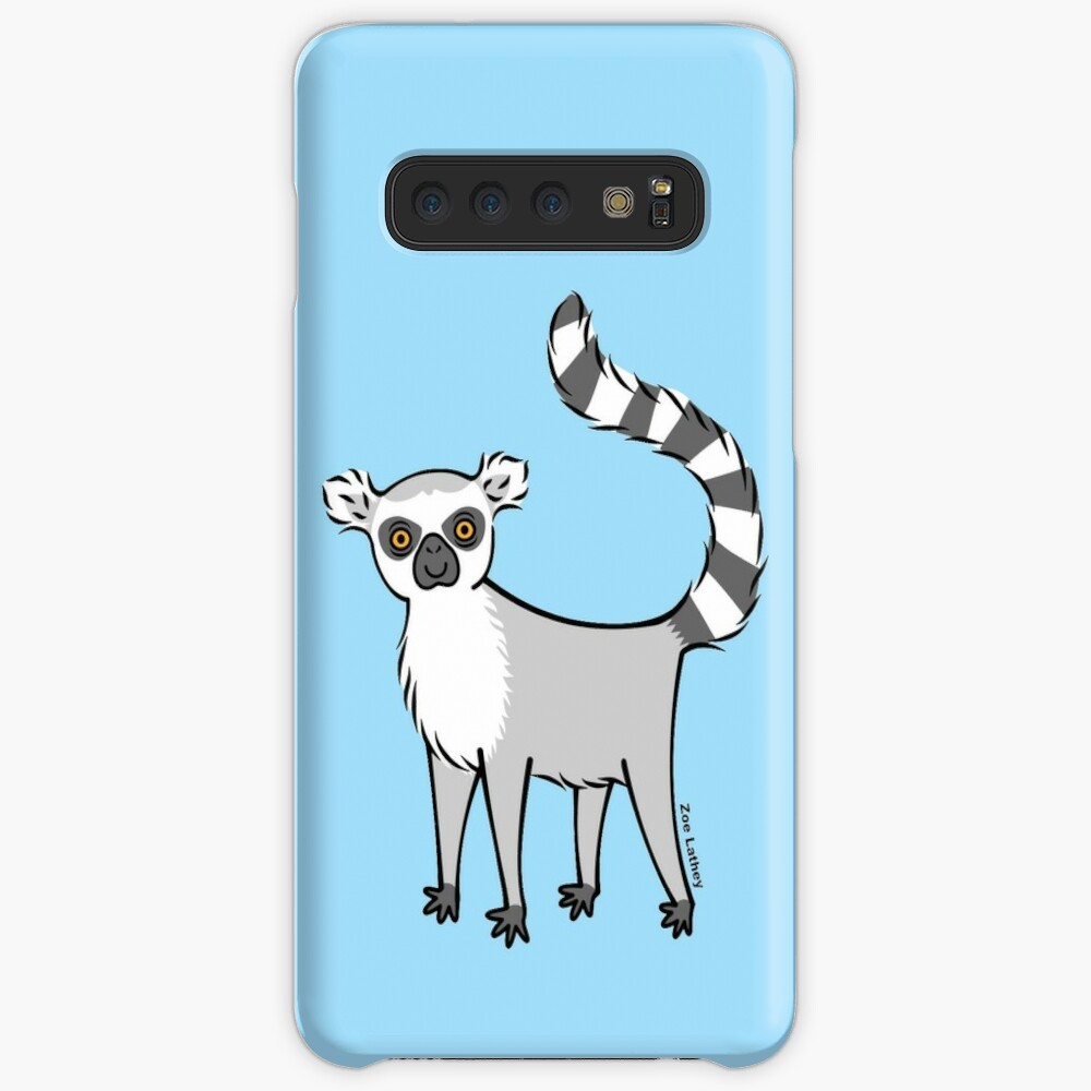 Ring Tailed Lemur Case & Skin for Samsung Galaxy