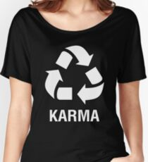 Recycling Karma Women's Relaxed Fit T-Shirt