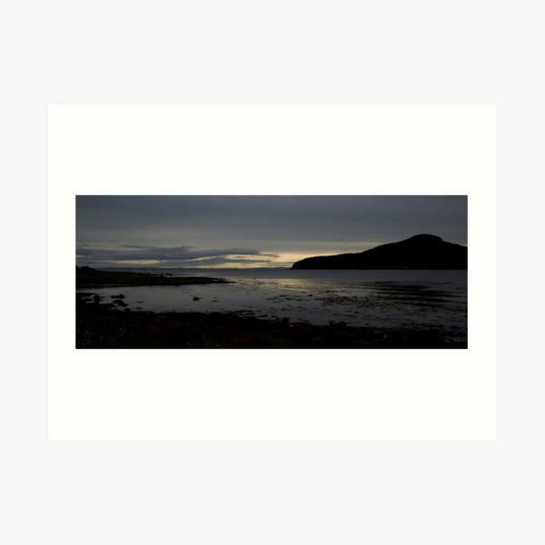Holy Isle Arran Art Print