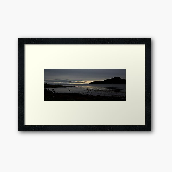 Holy Isle Arran Framed Art Print