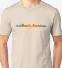 IL Jerusalem Israel City Skyline watercolor Hq v1 T-Shirt