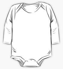 Skate Wausau - Board (White) Long Sleeve Baby One-Piece