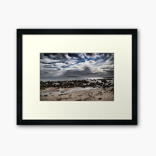 Kildonan Arran Framed Art Print