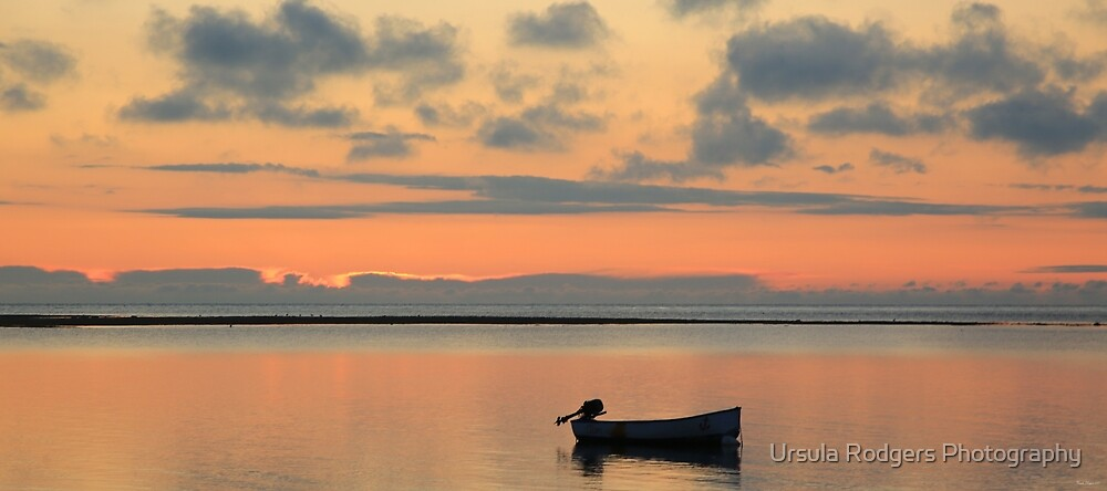 A Peaceful Dawn - Bembridge, The Isle of Wight by Ursula Rodgers Photography