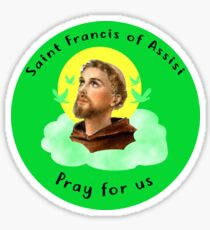 Saint Francis of Assisi Sticker