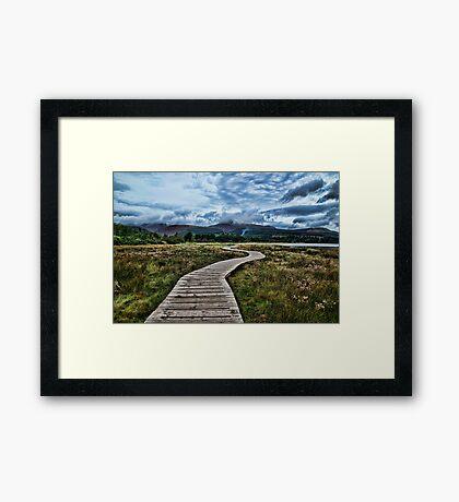 Fisherman's Walkway Arran Framed Print