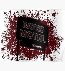 Bates Motel - Alfred Hitchcock Poster