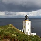 Lighthouse Holy Isle Arran by Doug Cook