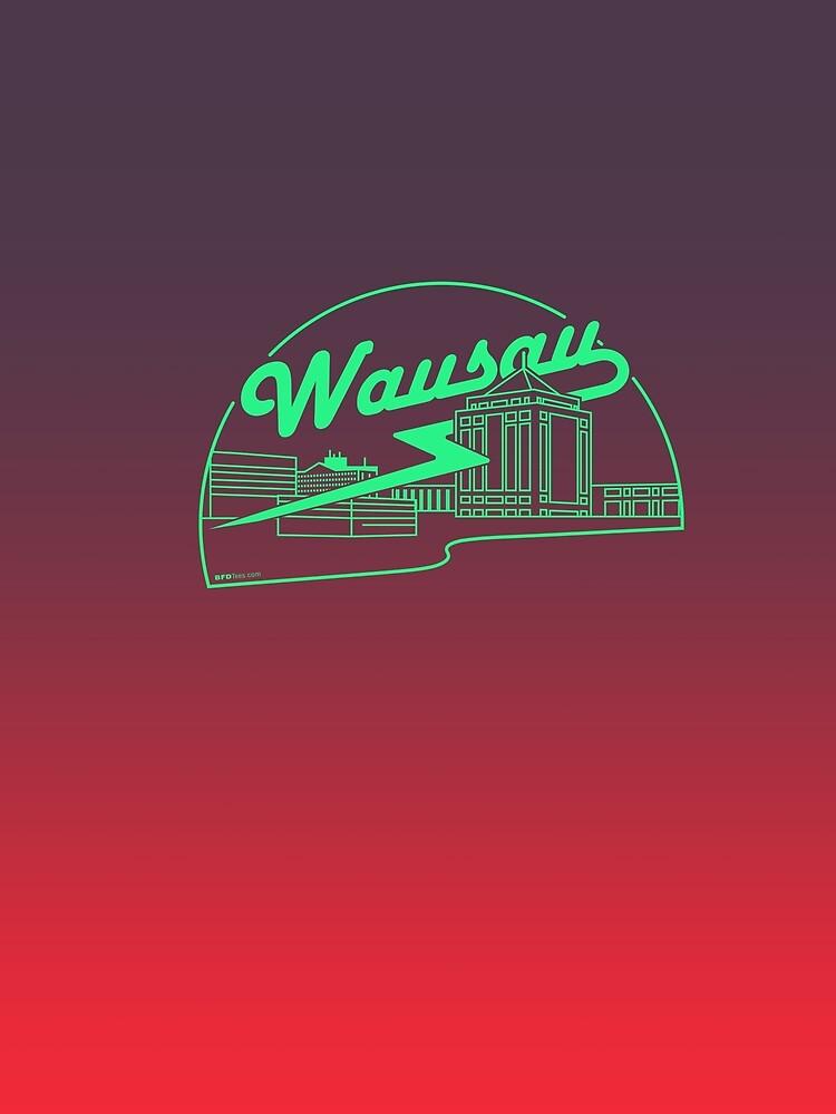 Wausau Skyline by bigfatdesigns