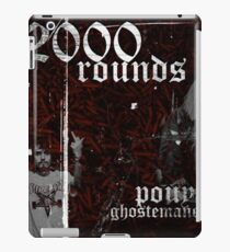 Ghostemane X Pouya 2000 Rounds iPad Case/Skin