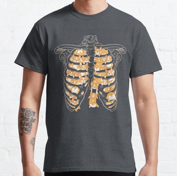 Ribcage de Corgis Camiseta clásica