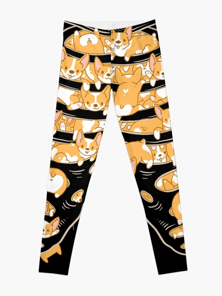 Alternate view of Ribcage of Corgis Leggings