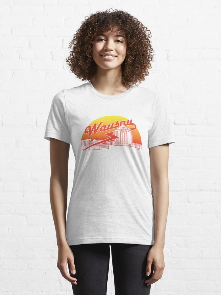 Alternate view of Wausau Skyline (Red) Essential T-Shirt