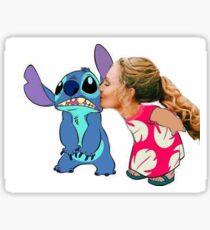 Keelin and Stitch Sticker