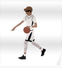 LaMelo Ball Pull-Up From Half Court Poster