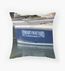 Boatyard Throw Pillow