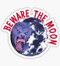 An American Werewolf Sticker