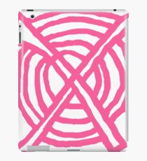 X Marks the Spot girly pink iPad Case/Skin