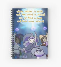 Leave No One Behind - DONATE TO CHARITY Spiral Notebook