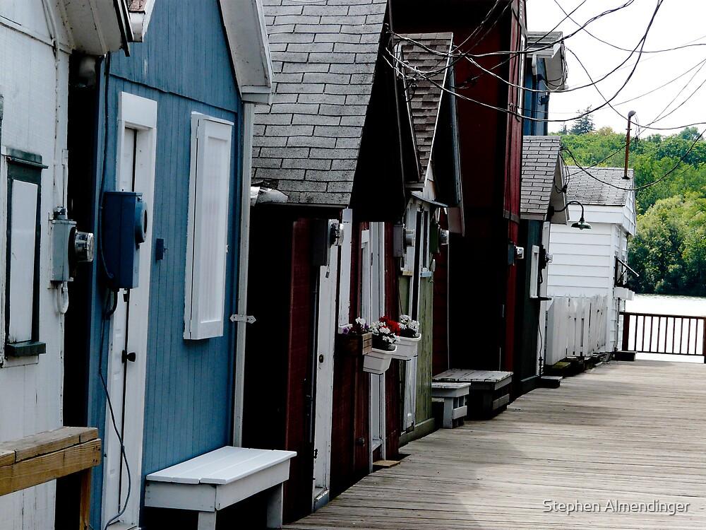 Boat Houses by Stephen Almendinger