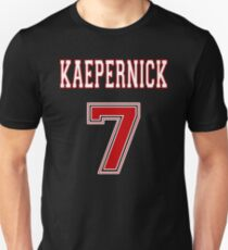 Kaepernick 7 RED Unisex T-Shirt