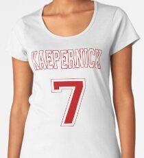 Kaepernick 7 RED Women's Premium T-Shirt