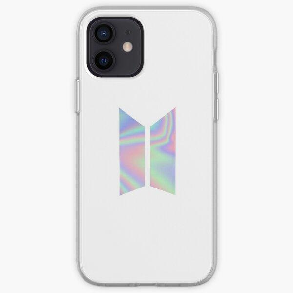 BTS LOGO - HOLO iPhone Soft Case