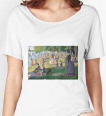 A Sunday Afternoon on the Island of La Grande Jatte by Georges Seurat Women's Relaxed Fit T-Shirt