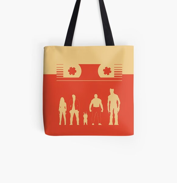 Guardians of the Graphixy All Over Print Tote Bag