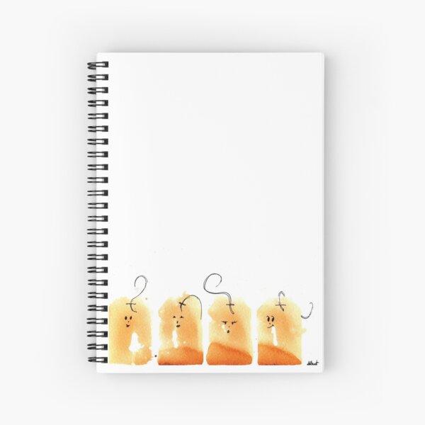 Teabags Spiral Notebook