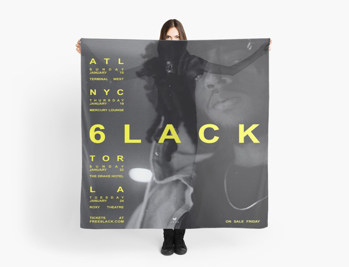 6lack Free 6lack Tour Scarves By Veryraree Redbubble