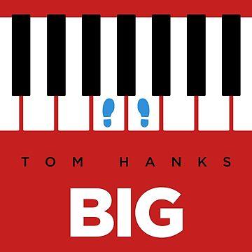 Big // Tom Hanks // Minimalist Art by DrawnToMind