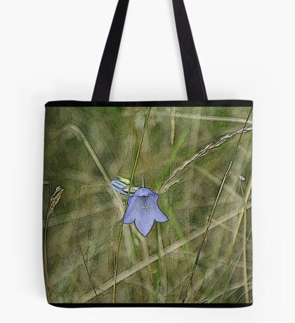 Bluebell Paint Effect Tote Bag