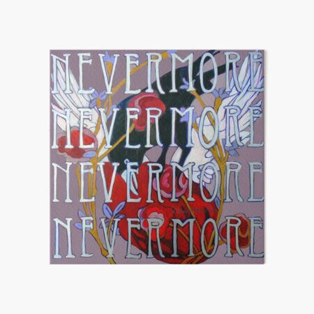 Nevermore Art Board Print