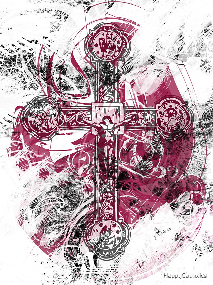 Blood on the Cross by HappyCatholics