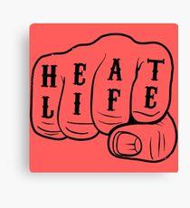 Heat Life Canvas Print