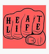 Heat Life Photographic Print