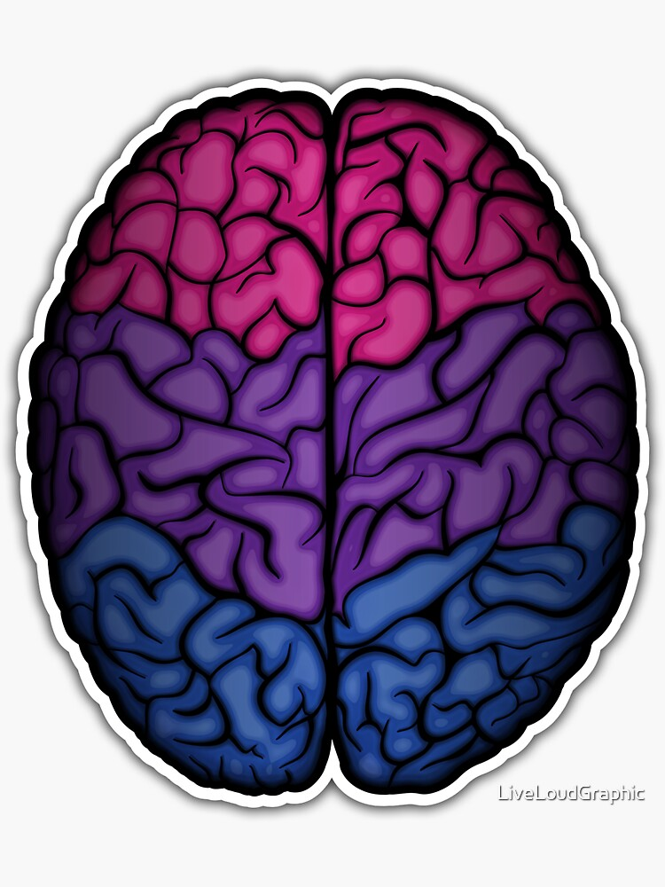 Bisexual Brain by LiveLoudGraphic