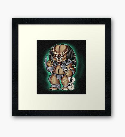 Predator Yautja Framed Print