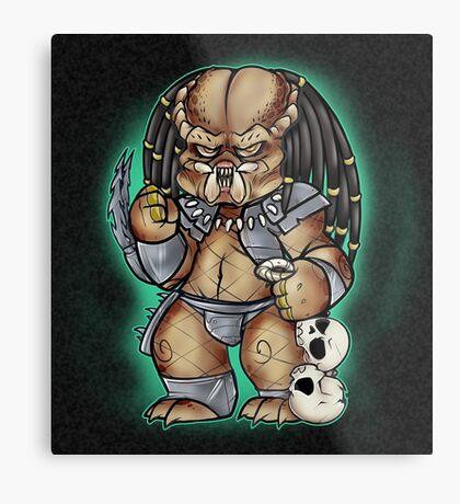 Predator Yautja Metal Print