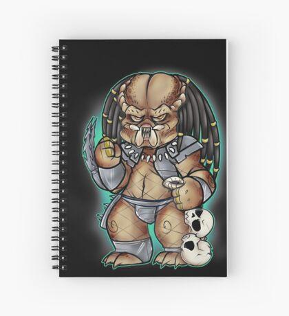 Predator Yautja Spiral Notebook