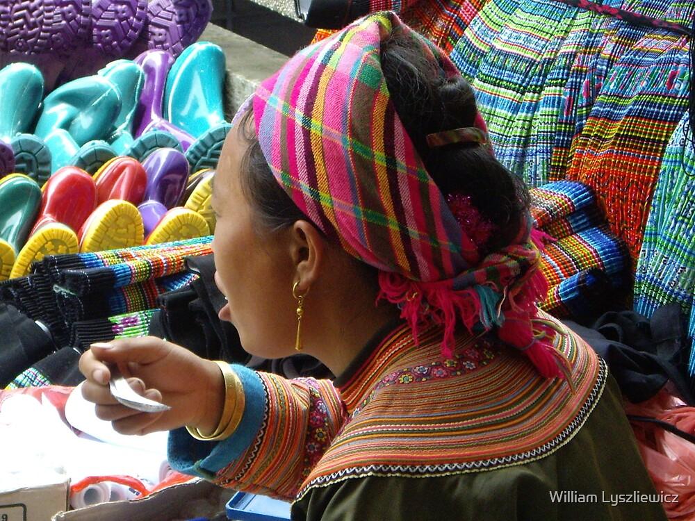 au marché de Sapâ by william lyszliewicz