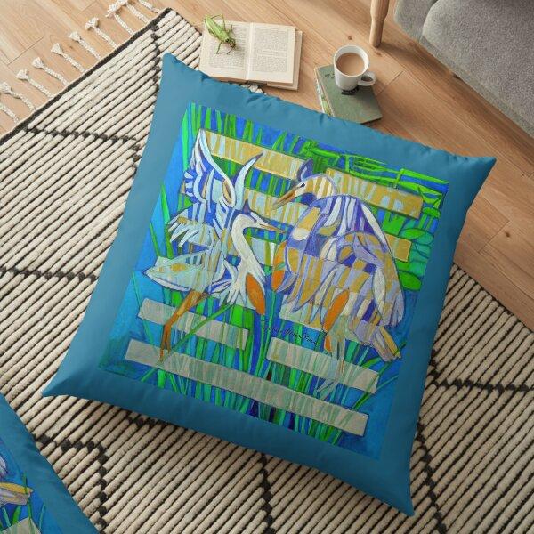 Hexagram 17: Sui (Follow the Leader) Floor Pillow