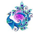 Peacock by Jatmika Jati