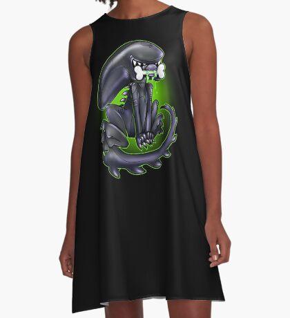 Alien Xeno A-Line Dress
