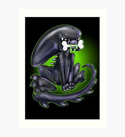 Alien Xeno Art Print